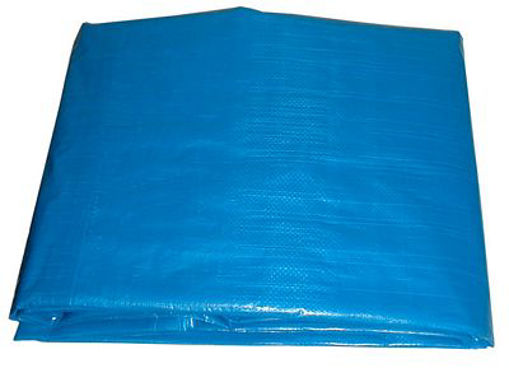 Picture of Tarp Hd 24 X 30' 4Mil Blue - No: T003900B
