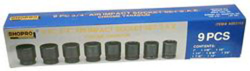 "Picture of AirImp Skt  9Pc 3/4"" SAE - No: A003152"