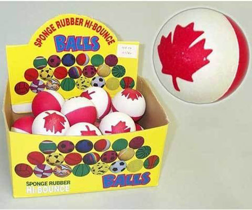 Picture of Ball Rubber Canada Flag - No: TYB56