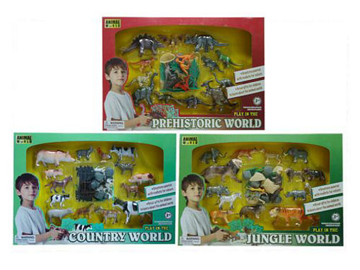 Picture of Animal Play Set Asst - No: 0505