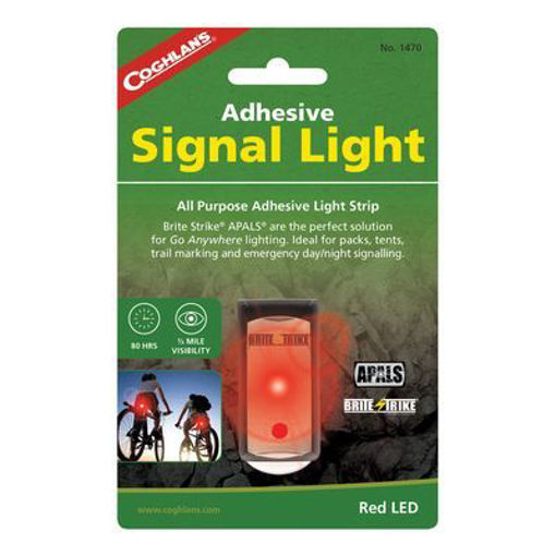 Picture of Adhesive Signal Light - Red - No: 1470