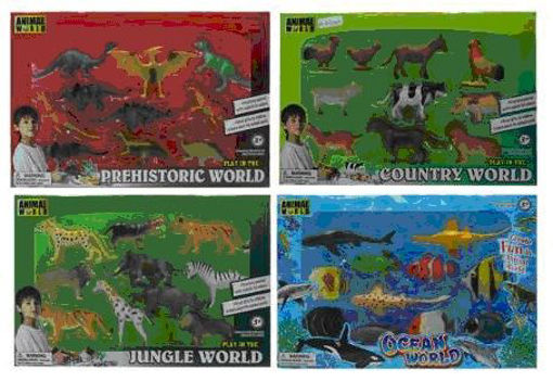 Picture of Animal Play Set Asst - No U0007