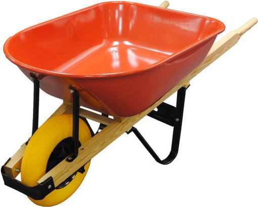 Picture of Wheelbarrow 6 Cuft 16in Flat Free - No W000429