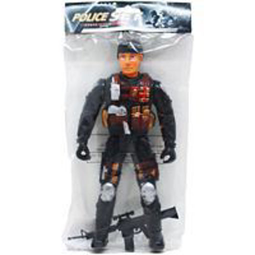 Picture of Action Figure 10.75in Police - No ARB3389
