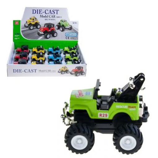 Picture of Y2 Wheels Metal Pullback Truck - No 70593TY