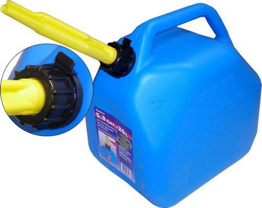 Picture of Can 20L Kerosene Jerry #7624 - No SC-K20