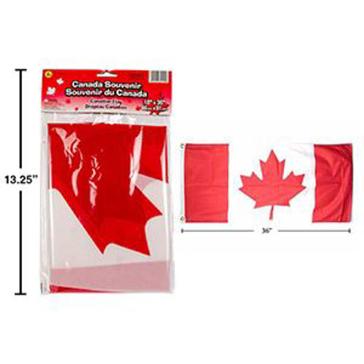 Picture of Canada Flag 18X36In Polyester - No 62210