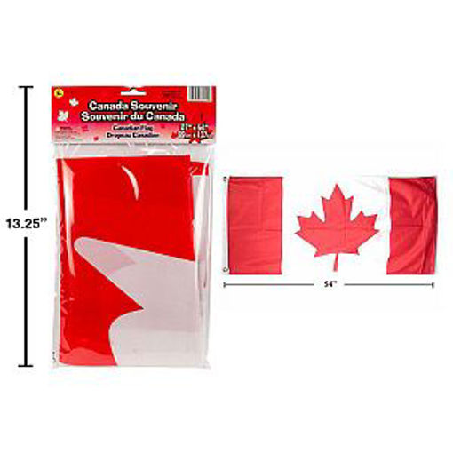 Picture of Canada Flag 27X54In Polyester - No 62211