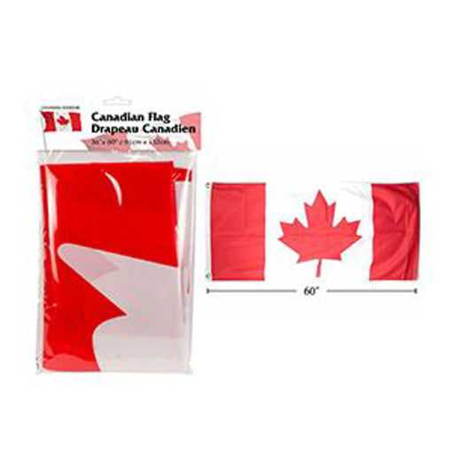 Picture of Canada Flag 36X60In, Nylon - No 62293