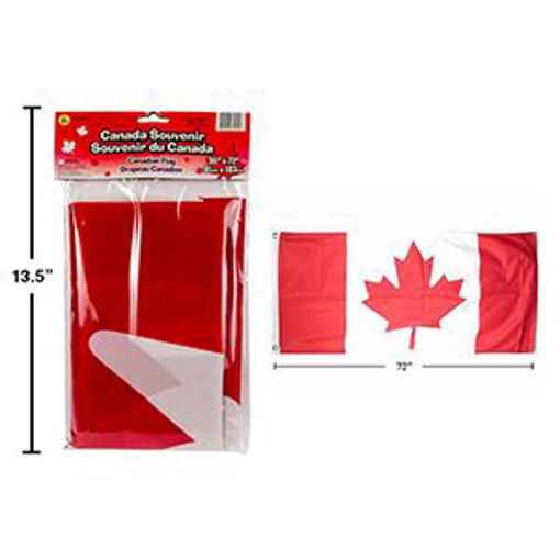 Picture of Canada Flag 36X72In Polyester - No 62212