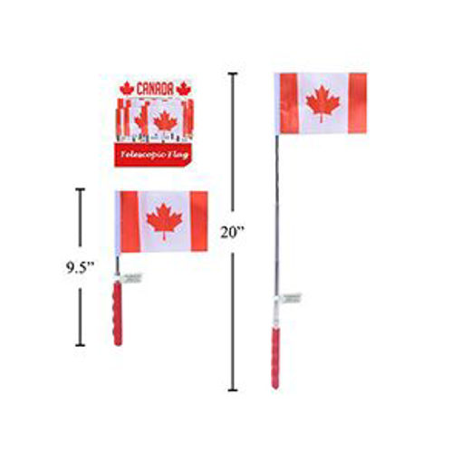 Picture of Flag Telescopic Canada Up To 21In - No 62470