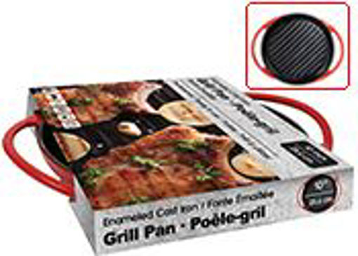 Picture of Griddle Cast Iron Enamel 10in - No 077943