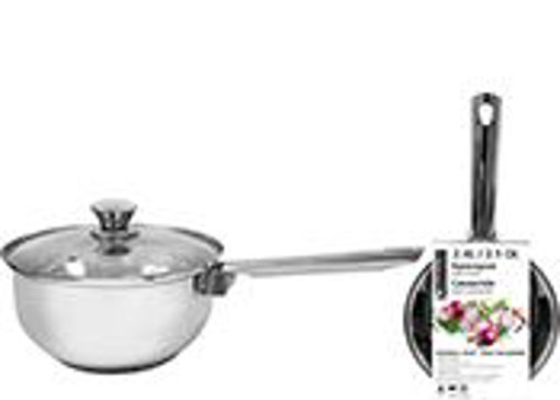 Picture of Sauce Pan Ss With Glass Lid 2.5Qt - No 077745