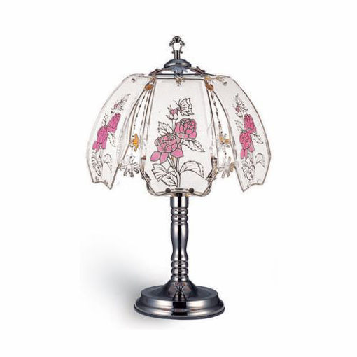 Picture of Touch Lamp 24in, Roses - No OK-632-4R