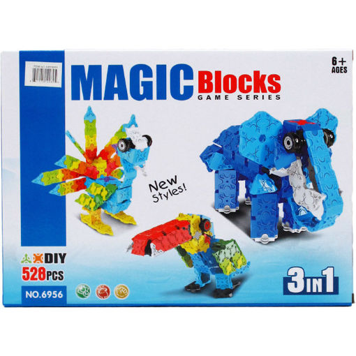 Picture of Blocks 3In1 3D - No ARY6956