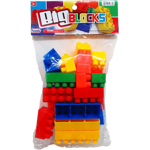 Picture of Blocks Jumbo 28Pc - No ARM86823