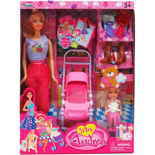 Picture of Doll Andrea 11.5In W/Mini Doll - No ARZ39663