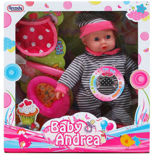 Picture of Doll Baby 9.5In W.Sound - No ARZ582