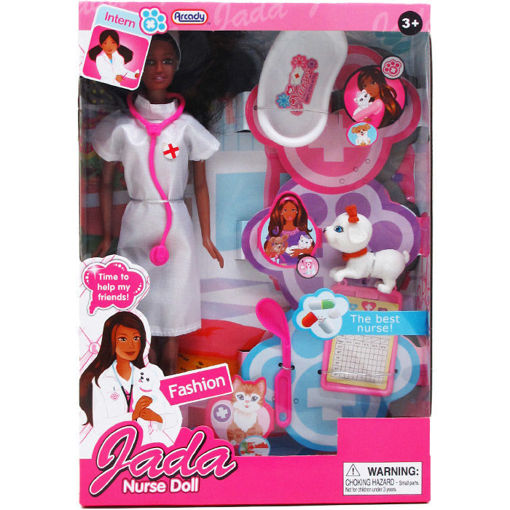 Picture of Doll Nurse 11.5In W.Pet - No ARZ86731