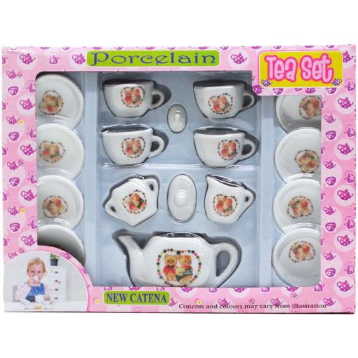 Picture of Tea Set 17Pcs Porcelain - No ARZ8684