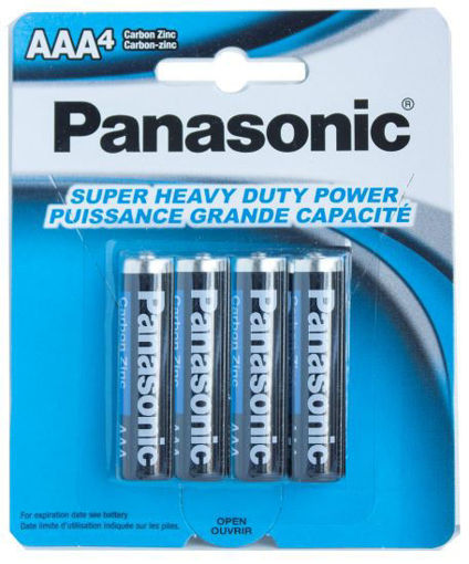Picture of Batteries Panasonic A A A 4Pk - No 30073096500274