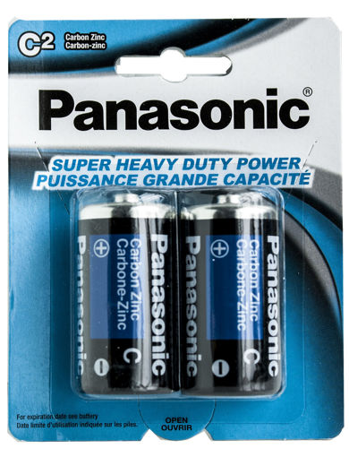 Picture of Batteries Panasonic C 2Pk Hd - No 30073096500205