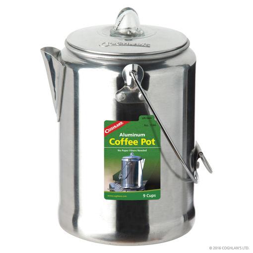 Picture of Aluminium Coffee Pot 9 Cup - No: 1346