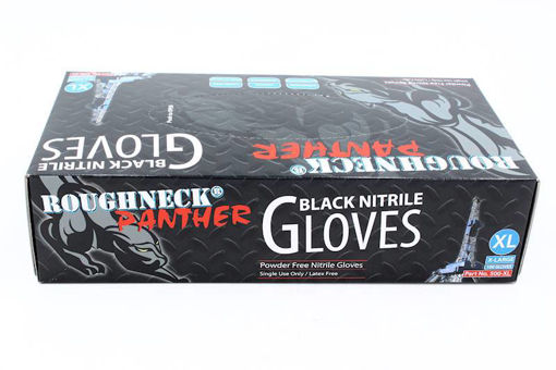 Picture of Nitrile Gloves X.Large 100 per Box Black - No 500XL