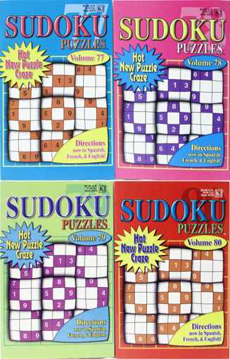 Picture of Book Sudoku Puzzles Vol #3/4 - No 375