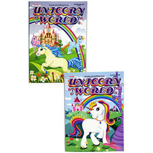 Picture of Coloring Book Unicorn 8X11 - No 1735