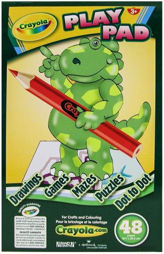 Picture of Play Pad Crayola 48Pg 010143 - No CRAYOLA2