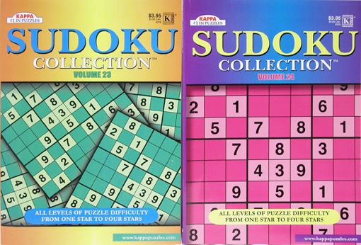 Picture of Sudoku Collection 96 Pg 8X11 - No 376