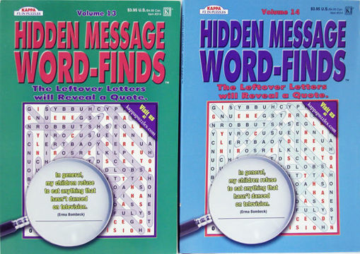 Picture of Word Find Hidden Message - No 314
