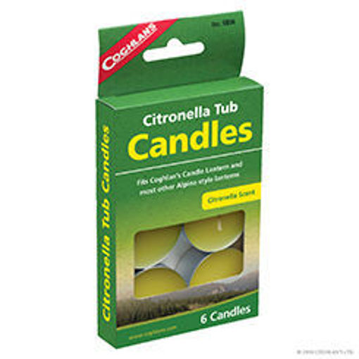 Picture of Candle Citronella Tub - No 9806