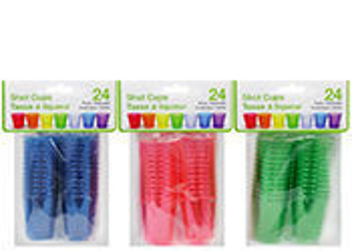 Picture of Shot Glass Plastic 20Pk - No 077755