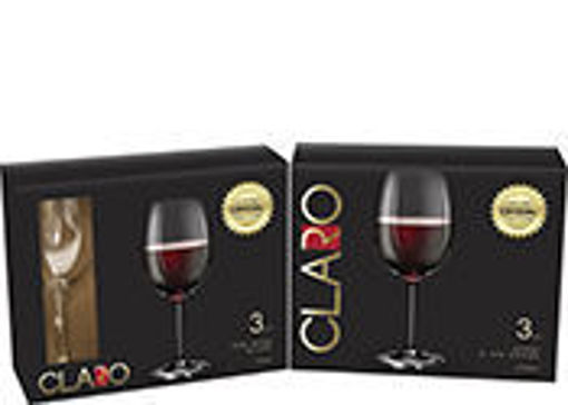 Picture of Wine Glass Red 16Oz 3Pk Crystal - No 078074