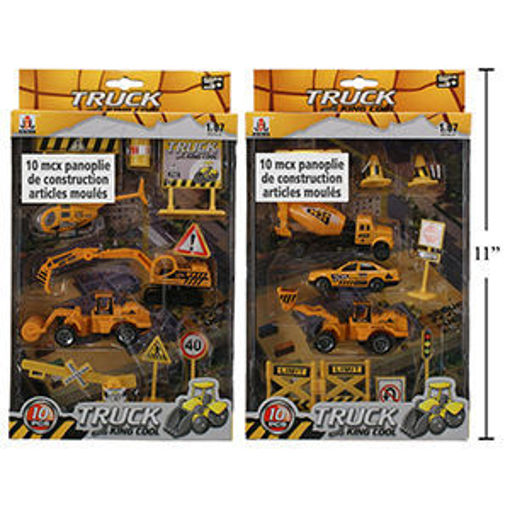Picture of Construction Playset 10-Pc - No 01048
