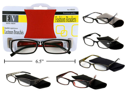 Picture of Reading Glasses With Case - No 82830