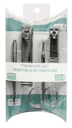 Picture of Manicure Set 4Pc Valu-Pack - No 073531