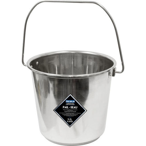 Picture of Pail Ss 5.2L - No 078279