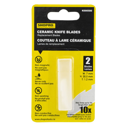 Picture of Blade 2Pc 30.5X7X1.2Mm Ceramic - No K000580