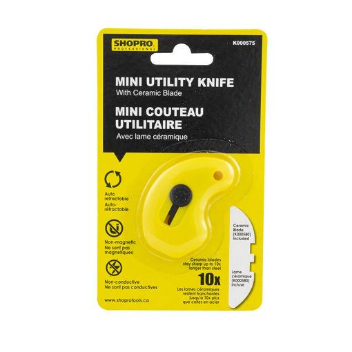 Picture of Knife Utility Retract Mini Ceramic - No K000575
