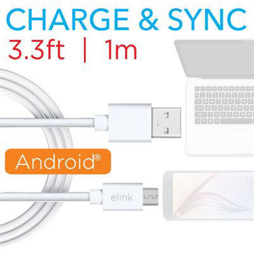Picture of 3.3Ft (1M) Micro To Usb Cable - No EK322