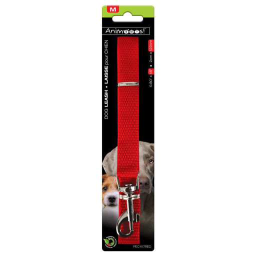 Picture of Nylon Dog Leash .8Inx48In, Red - No PEC1117RED