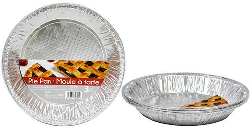 Picture of Foil Pie Pan Deep 3Pk - No 074659