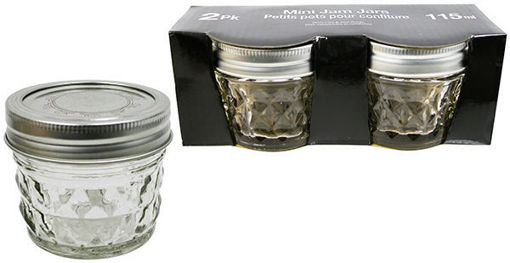 Picture of Jar Mason 2Pk, 115Ml Seal Ring - No 076677