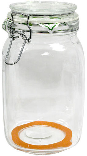 Picture of Jar Sq Lock Lid Hermetic 1.5L - No HERMETICO-1_5L