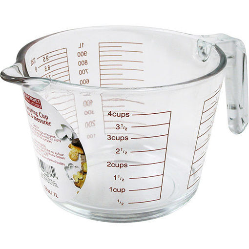 Picture of Measuring Cup Glass 4Cup 1L - No 077865
