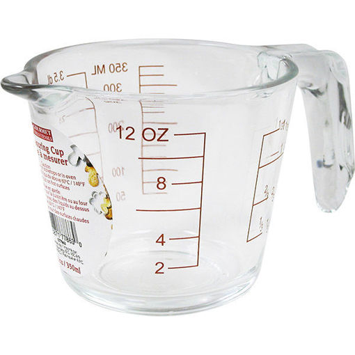 Picture of Measuring Cup Glass 1Cup 350Ml - No 077863