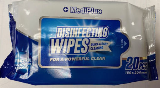 Picture of Disinfecting Wet Wipes 20Pk - No WPS-20
